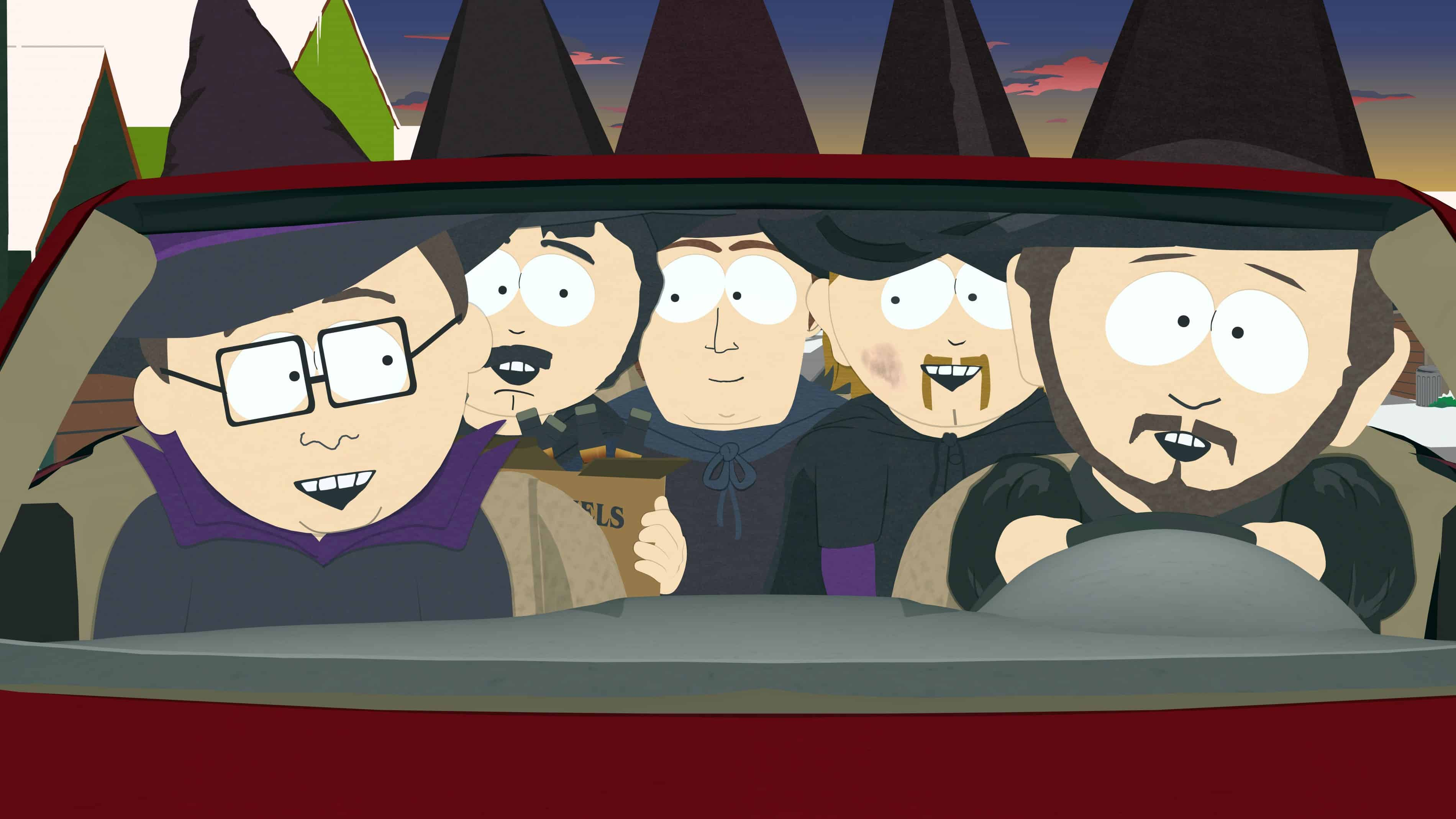 It's Halloween on the Next South Park - Long Room