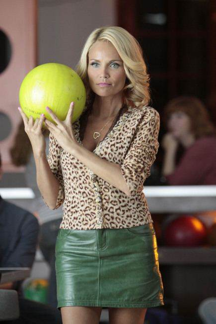 Kristen Chenoweth as April, hoping for that strike; image courtesy of tvovermind.com