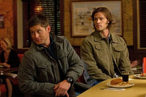 "Supernatural Photos: The Boys Go Bad in Episode 7.06 ""Slash Fiction"""