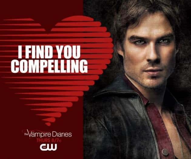 Valentine S Day Cards From Supernatural Game Of Thrones Glee The Vampire Diaries More Cw Fox Shows
