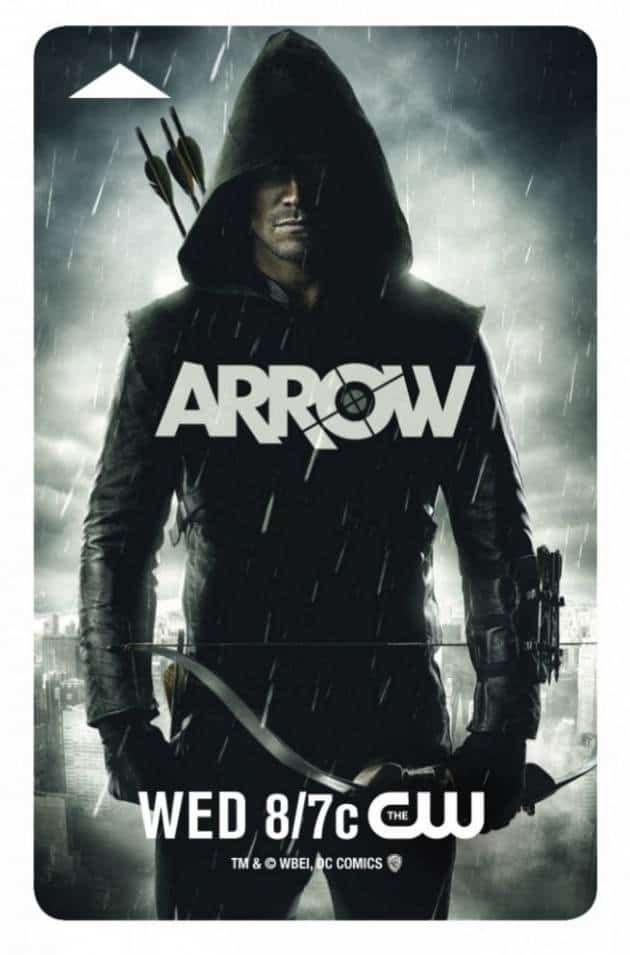 Arrow Comic-Con Keycard