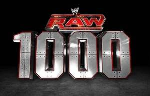WWE Raw 1000th Episode