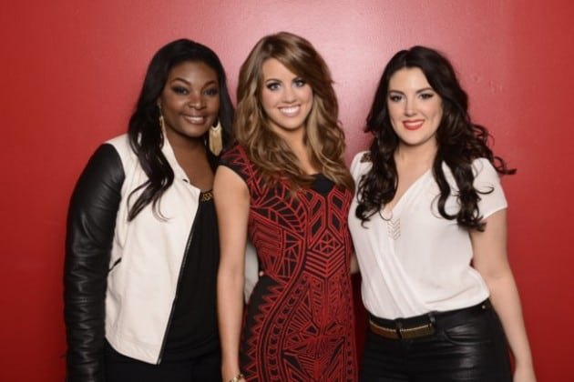 American Idol 2013 Top 3 finalists