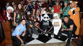 DWTS Derek Hough Hosts His Own Halloween Party