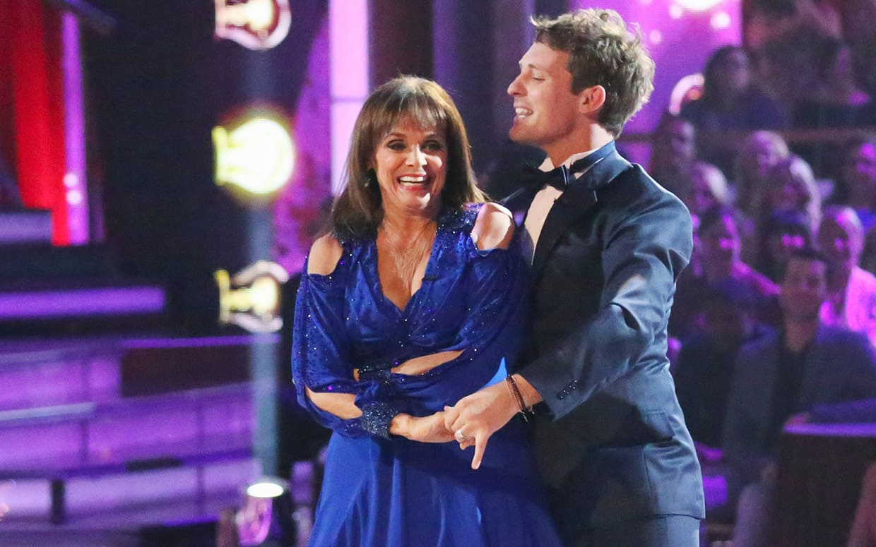 Valerie Harper eliminated on dwts