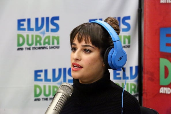Lea Michele Visits The Elvis Duran Z100 Morning Show