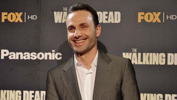 'Andrew Lincoln and Robert Kirkman Attend 'The Walking Dead' Premiere in Madrid