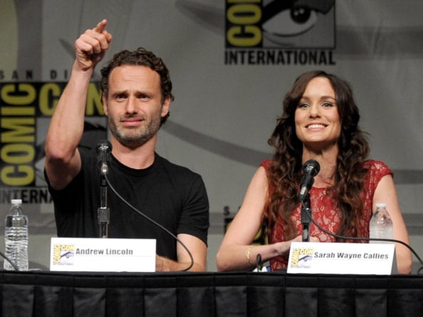 "AMC's ""The Walking Dead"" Panel - Comic-Con International 2012"