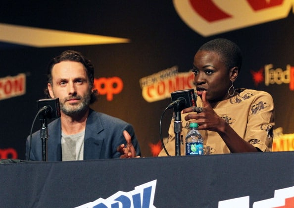 """The Walking Dead"" Panel At New York Comic Con"