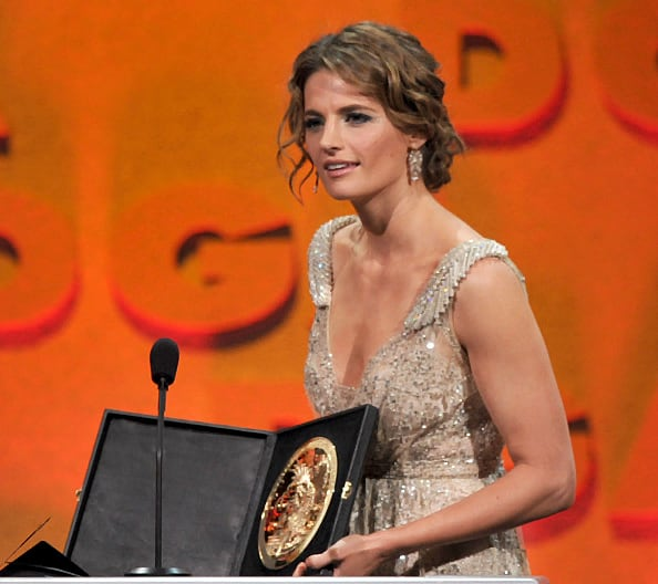 Stana Katic Jan. 27, 2012 - DGA Awards Source: Kevin Winter/Getty Images