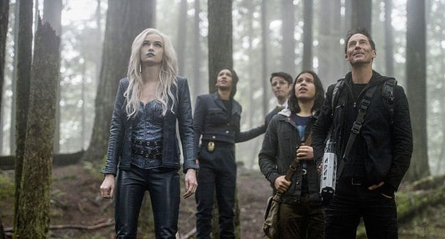 Killer Frost, Detective West, Cisco Ramon and Harry Wells