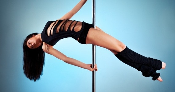 Interesting. Tell celebrity stripper poles