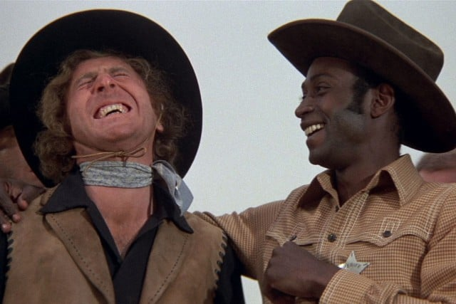 is blazing saddles racist