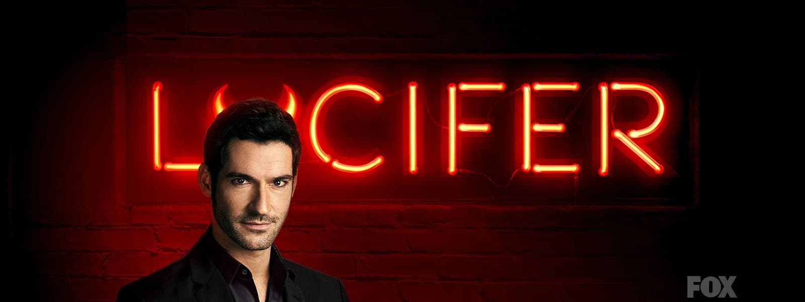 Tom Ellis as Lucifer Morningstar in the series, Lucifer