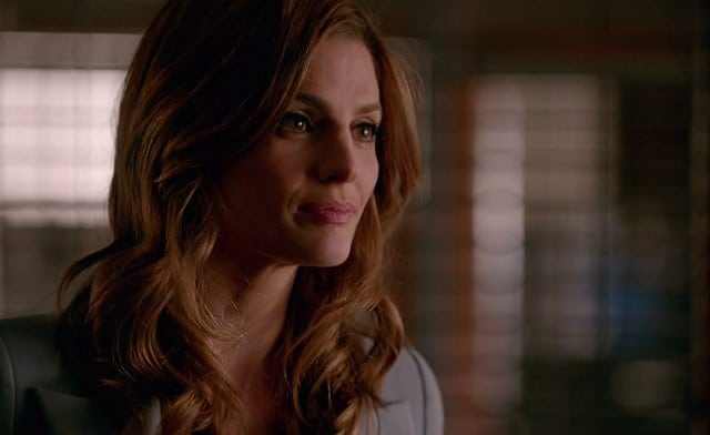Castle season 8 episode 16 - Stana Katic as Kate Beckett