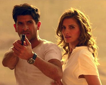 Raza Jaffrey and Stana Katic in The Rendevous