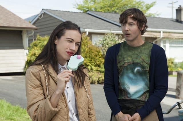 Ballinger and Erik Stocklin in 'Haters Back Off'