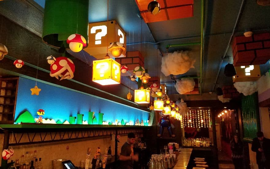 Super Mario Themed Pop Up Bar In Dc Looks Pretty Awesome