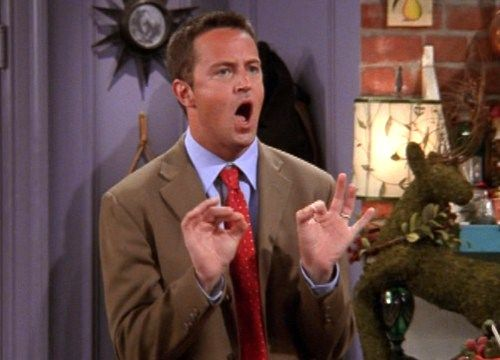 The Glorious Charm And Wit Of Chandler Bing In Photos
