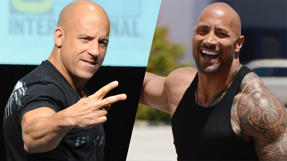 vin diesel says he could easily take dwayne johnson in a real fight. Black Bedroom Furniture Sets. Home Design Ideas