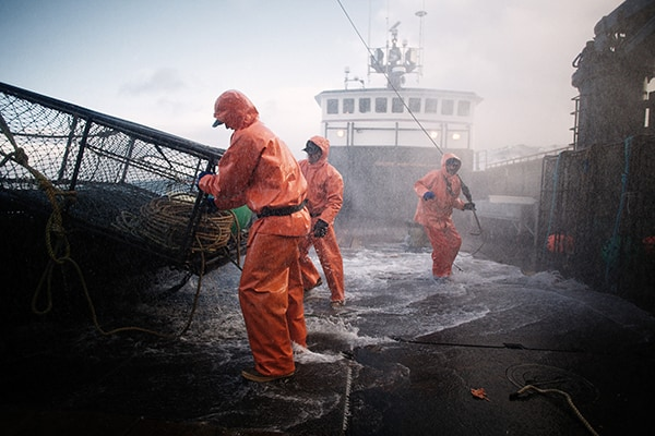 The top five deadliest catches on deadliest catch for Crab fishing game