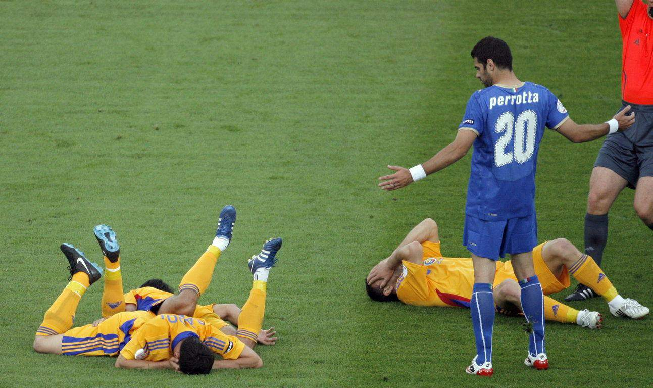 Hungarian Soccer Player Pulls What Might Be The Worst Flop