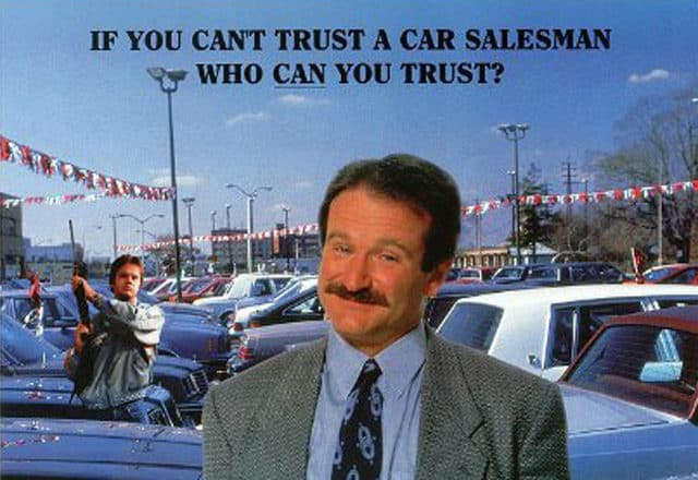 The Top Five Car Salesmen In Movies