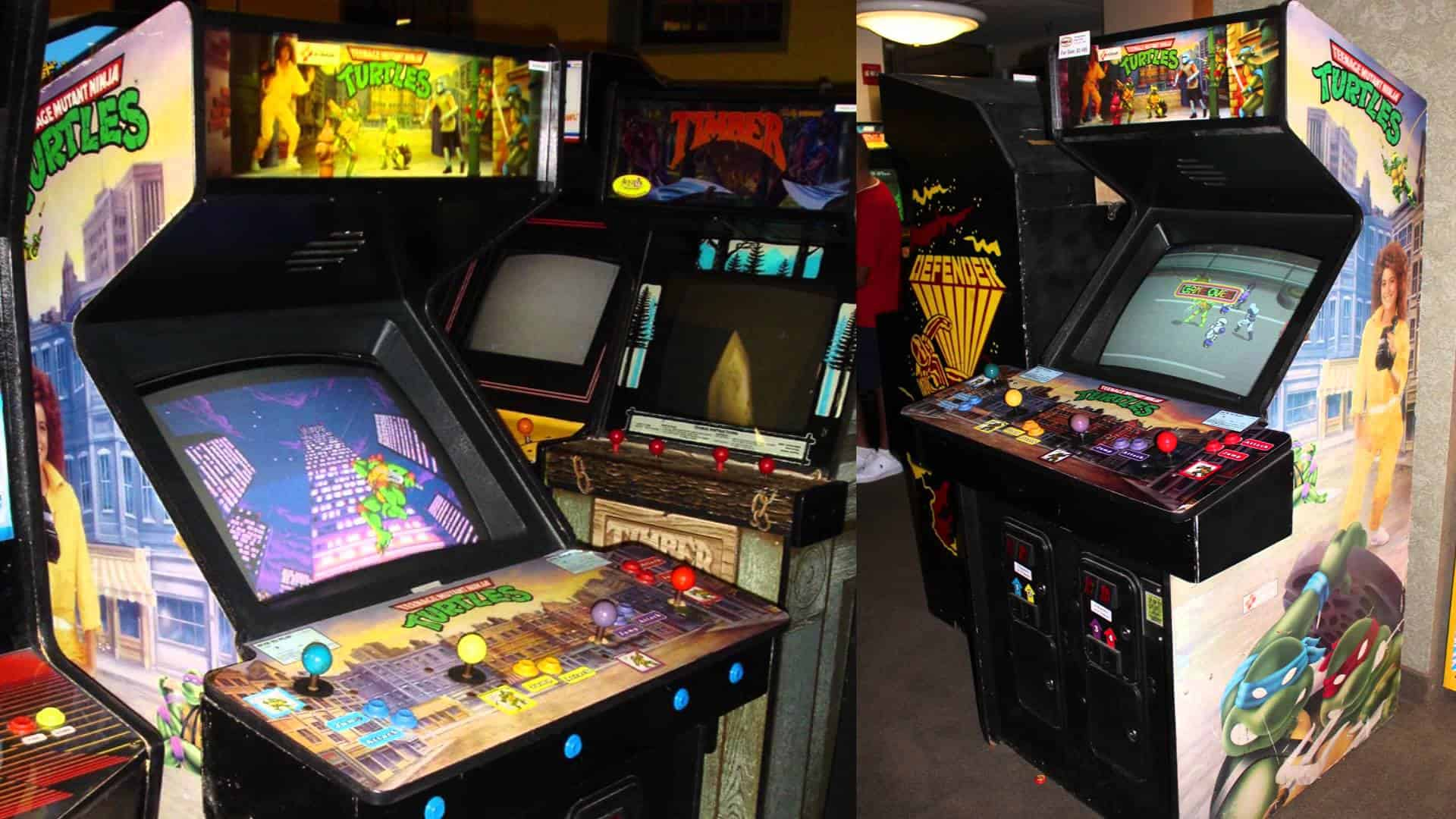 Vintage Arcade Games >> The Teenage Mutant Ninja Turtles Are Returning to the Arcade for the First Time in Over Two Decades