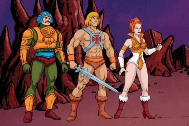 He man cartoon