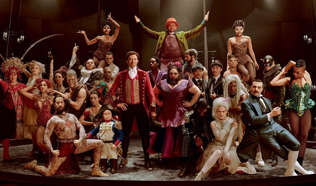 Golden Globes Nominee - The Greatest Showman