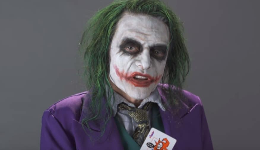 If Tommy Wiseau Auditioned To Play The Joker