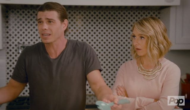 Hollywood Darlings - guest star Matthew Lawrence with Beverley Mitchell