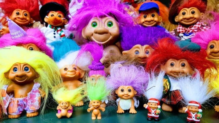 Anyone Who Was A Child During The 1990s Will Most Probably Remember Wild Haired Troll Dolls These Were One Of Gest Trends In Toy Market At