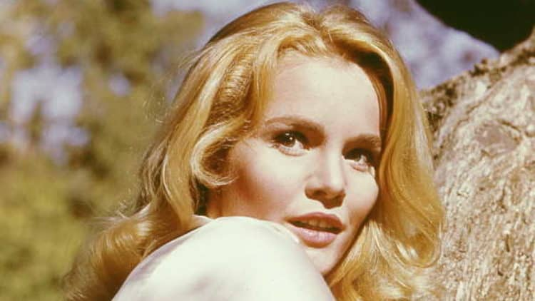 Tuesday Weld wet