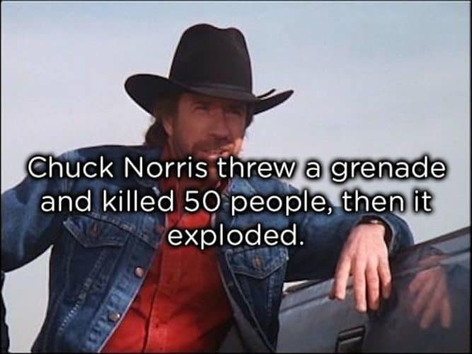 A Collection Of Corny Chuck Norris Jokes That Are Admittedly Hilarious