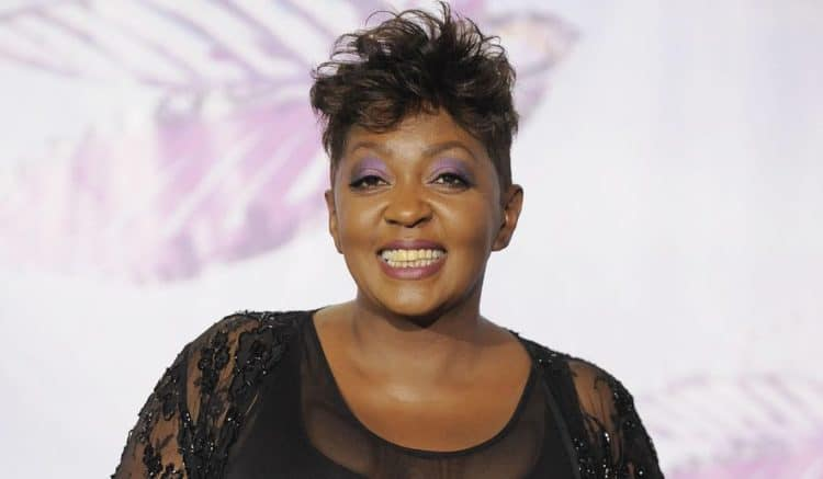 The 63-year old daughter of father (?) and mother(?) Anita Baker in 2021 photo. Anita Baker earned a  million dollar salary - leaving the net worth at  million in 2021