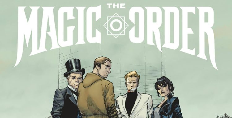 Mark Millar The Magic Order Comic
