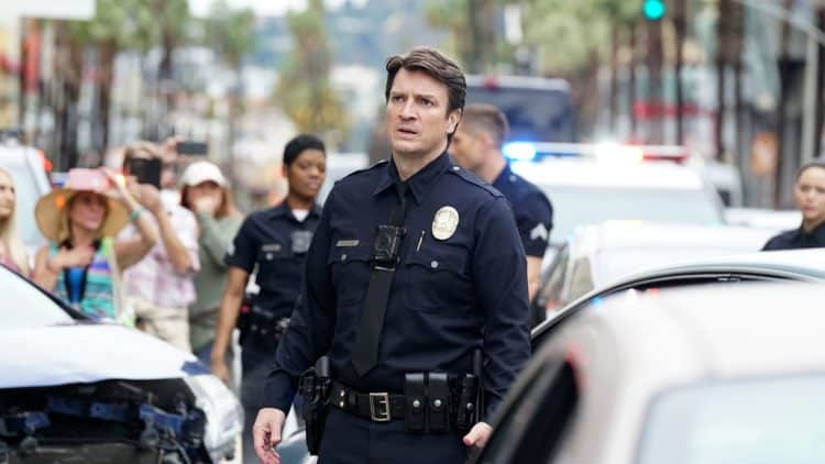 Nathan Fillion The Rookie