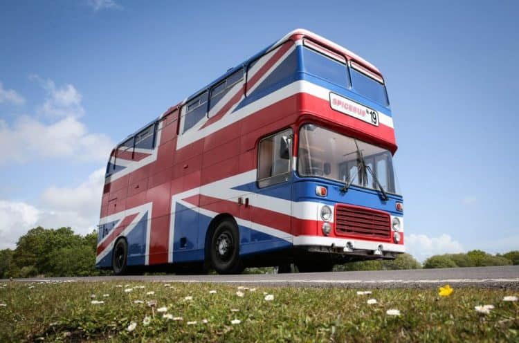 Spice Girls Tour Bus