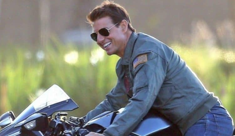Tom Cruise top gun 2 motorcycle