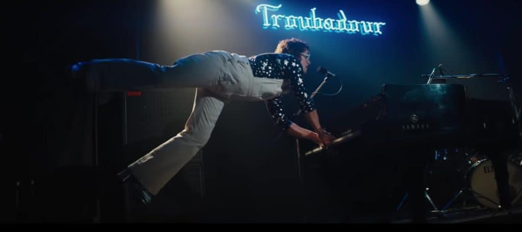 Image result for crocodile rock rocketman scene