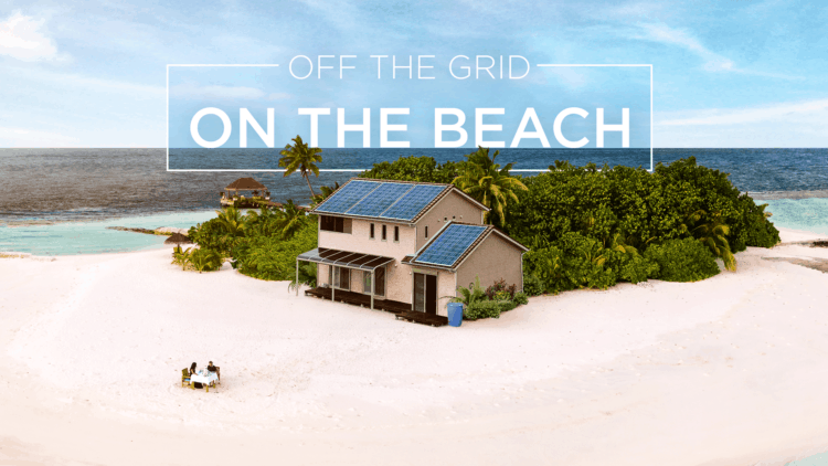 Off The Grid on the Beach