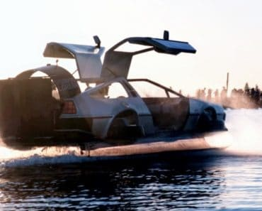 Delorean Hovercraft